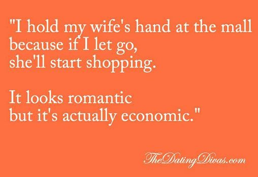 Shopping funny.…. | A Slower Pace